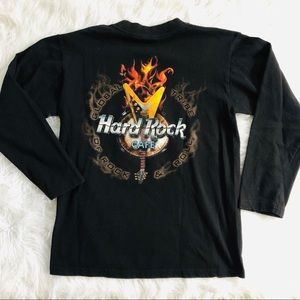 Hard Rock Cafe surfing paradise guitar T